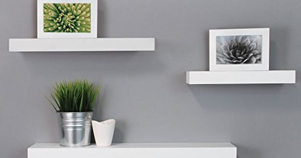 Nexxt Maine Wall Ledges 12 Inch 16 Inch 24 Inch Whit Http Www Amazon Com Dp B010gklds6 Ref Modern Floating Shelves White Floating Shelves Wall Ledge