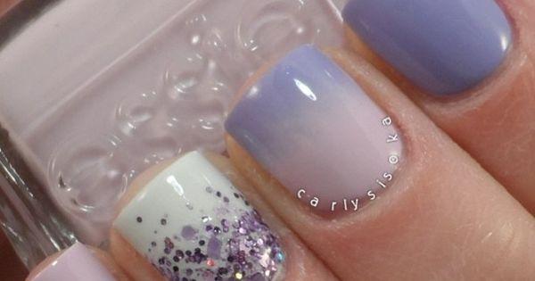 Purple Hodge Podge: Perfection purplenails nailart essie