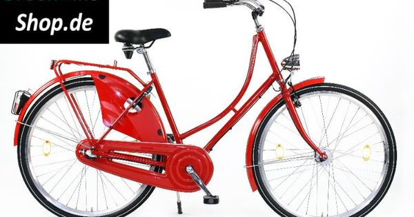 damen hollandrad hollandfahrrad cityrad nostalgierad retro fahrrad 3 gang 28 zoll rot. Black Bedroom Furniture Sets. Home Design Ideas
