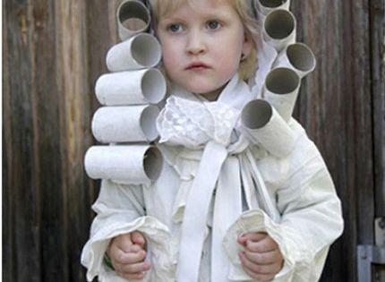 TPcraft.com: Wandering Wednesday Toilet Paper Roll Wig FLVS craft kids fun PresidentsDay