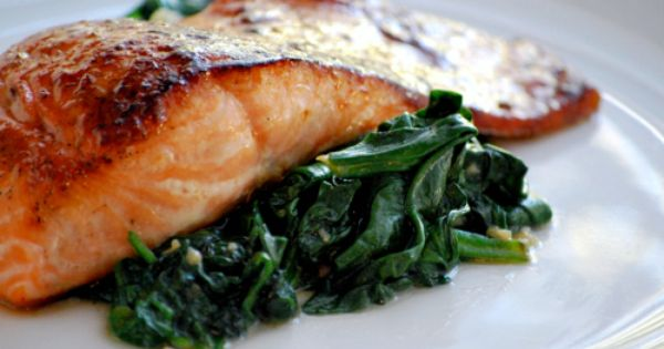 The Sweet Pea Chef's Pan Roasted Salmon \\