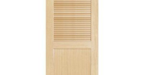 Steves Sons Louver Panel Solid Core Pine Interior Slab Door J64nlnnnac99 At The Home Depot