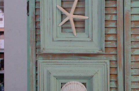 Gemaakt van oude schilderij foto lijsten crafts recycle pinterest schelpen grieks huis - Decoratie schilderij wc ...