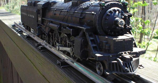 lionel trains  2037 diecast steam engine tender set smoker