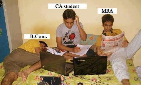 B Com Mba And Ca Students Funny Pictures Student Jokes Fun Quotes Funny Exam Quotes Funny