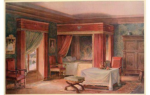 Dormitorio en estilo luis xiii siglo xvii primera parte for Dormitorio luis xvi
