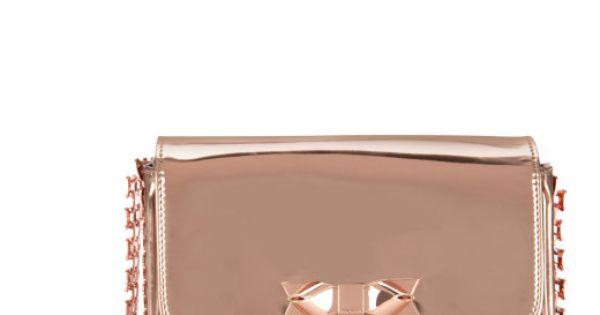CHANEEY - Bow chain evening bag
