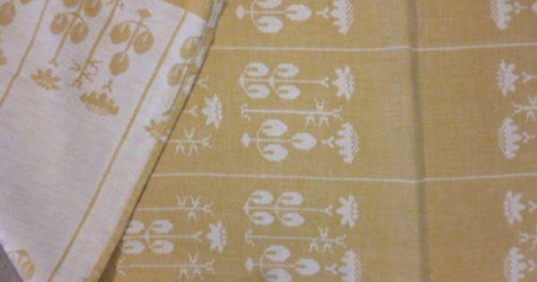 Tampella Finland Dora Jung Quot Yrttitarha Quot Cotton Linen