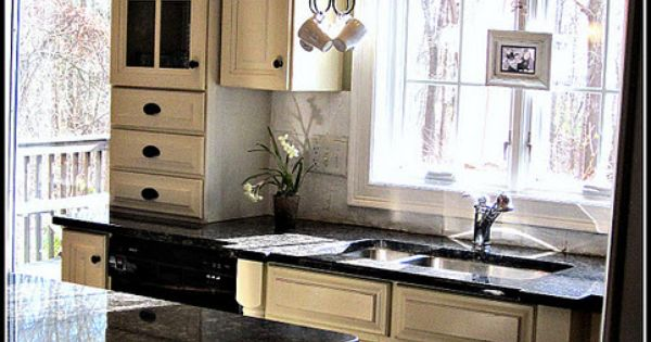 "Down to Earth Style: Tour My House: ""Kitchen window"""