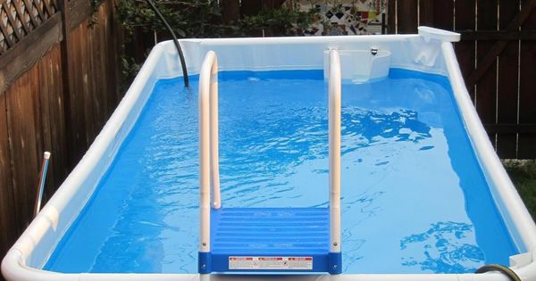 Above ground pool outdoor stuff pinterest portable for Portable above ground swimming pools