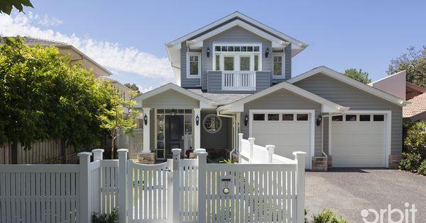 Hamptons Style Facade A Custom Designed Home By Orbit