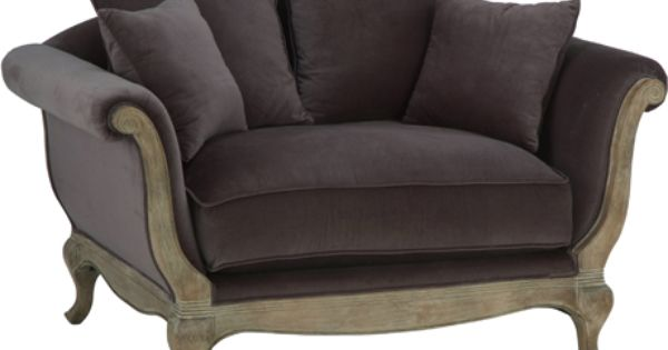 Fauteuil Tissu 1 5 Seat Grey Tourmente Hanjel Armchair Love Seat Home Furniture
