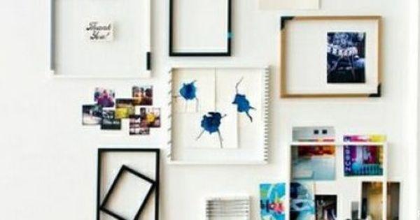 Siéntete El Artista De Tu Casa 33 Ideas Para Enmarcar Fotos Hacer Marcos Para Cuadros Como Enmarcar Fotos Cuadros De Pared