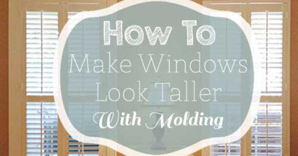 how to make your front door look taller