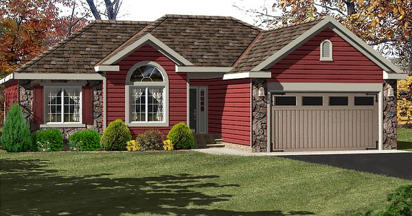Single Ranch House Red Siding Red Houses With Siding