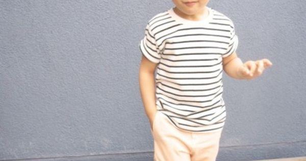Mini Street Style adorable children style breton chic
