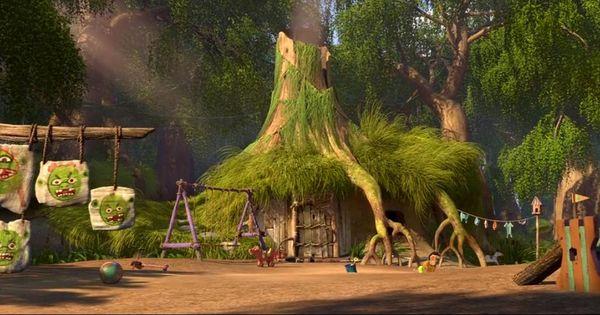 shrek - his house in swamp | Lego Research | Pinterest | Shrek