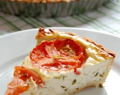 Tomato, Basil Pie with Parmesan Rosemary Crust | Recipe ...