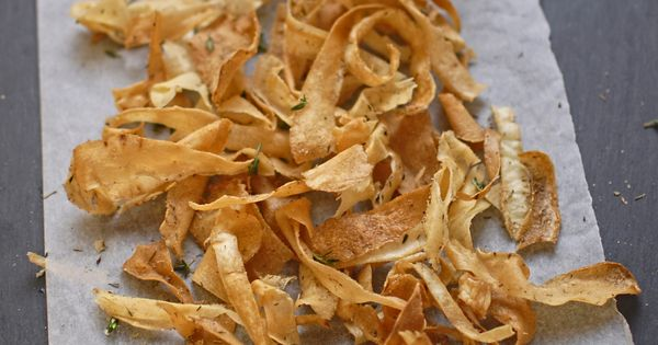 Parsnip Crisps with Smoked Salt and Thyme | Potluck at Oh ...