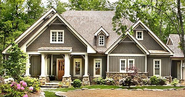 Plan 25605ge country cottage with dual master suite - Country style exterior house colors ...