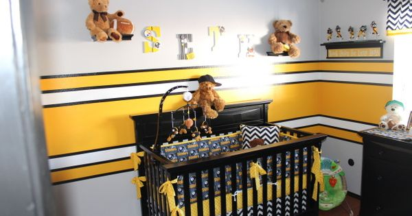 Pittsburgh Steelers Decorated Rooms