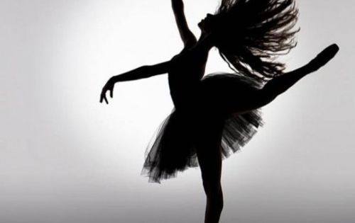 ballet silhouette ballerina dance beauty grace balance art