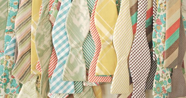 Bow Ties Patterns