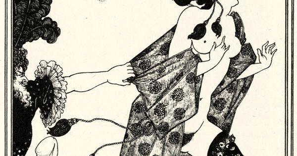 Aubrey Vincent Beardsley - Illustration zu »Lysistrata ...