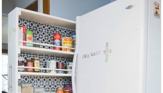 Small space storage solution space saver pantry and - Pantry solutions for small spaces collection ...