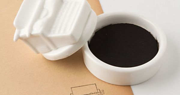Typewriter Stamp ($24) — gifts for writers