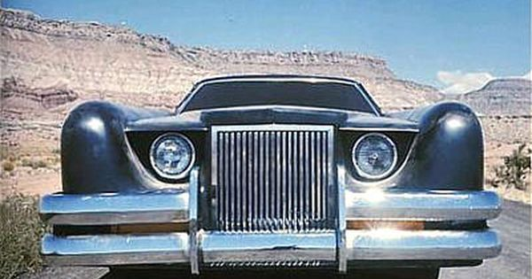 Lincoln Continental 1971 the car George Barris coche modelo 1:18 auto World