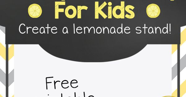 Today's kids start lemonade stands with a business plan