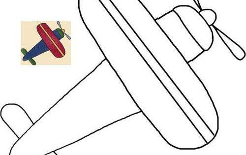 airplane cut out template - airplane pattern zuk nftige projekte pinterest