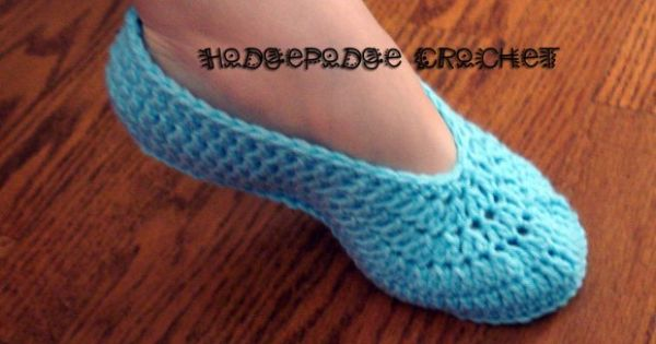 adult slipper 003 free pattern