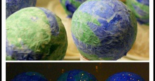 how to make a light up globe