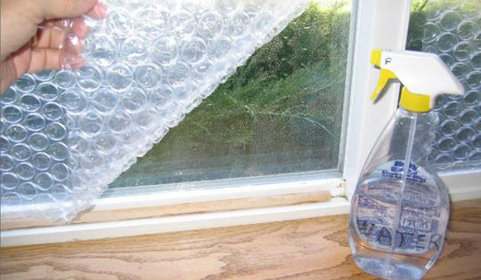 How To Insulate With Bubble Wrap The Winter Wraps And