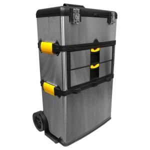 Stalwart 25 In 2 Drawer Massive And Mobile Tool Box 75 7577 With Images Mobile Tool Box Tool Box Storage Tool Box