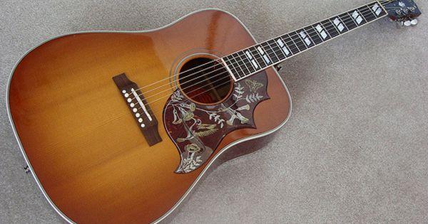 The Gibson Hummingbird Guitar Acoustic Guitar Gibson Guitars