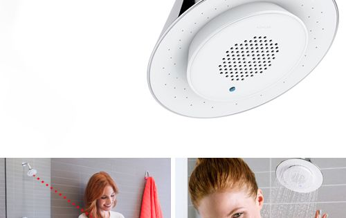 Bluetooth Shower Head by Kohler with Removable Speaker – Moxie - Bluetooth