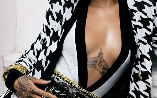 Rihanna for Balmain - I think I would put on a shirt