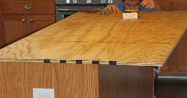 How To Create Faux Reclaimed Wood Countertops Wood Countertops Islands And On