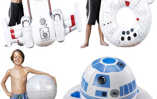 Star wars inflatable pool stuff