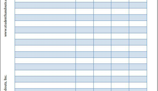 Free Printable Employee Sign-In And Sign-Out Sheet | K-12