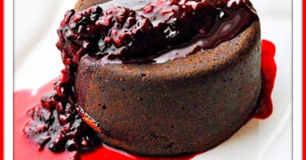 Chocolate Nutella Lava Cakes ~ A perfect Valentine's Day Dessert!