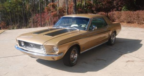 1968 Mustang Gt S Code 390 Coupe Fully Restored For Sale Www