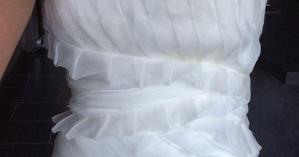 Robe de Mariée courte Ugo Zaldi en soie doccasion - Seine Maritime ...