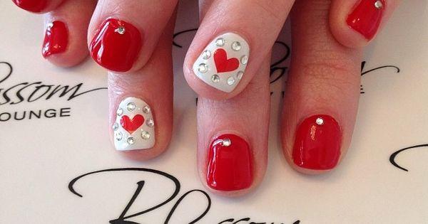 blossombeautylounge VALENTINE nail nails nailart