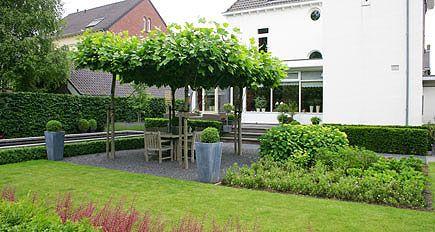 Tuinontwerp tuinontwerpen foto 39 s voorbeelden moderne tuinarchitectuur pag 4 voortuin - Eigentijdse tuinarchitectuur ...