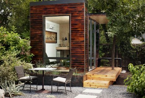 sett studio a stylish modular space perfect for a backyard office or guest room read more sett studio a stylish modular space you can use as a backyard backyard office pod cuts