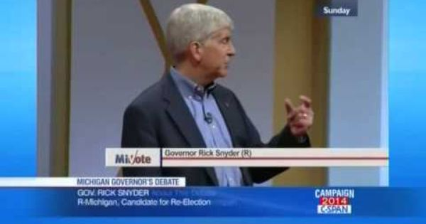 We Do Fracking Right In Michigan Gov Rick Snyder Flint Water Water Issues Environmental Science